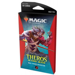 Magic Theme Booster Theros Beyond Death : Rouge
