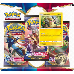 Booster Pokémon Epée et Bouclier : Tripack Morpeko