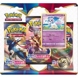 Booster Pokémon Epée et Bouclier : Tripack Ponyta de Galar