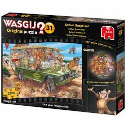 Puzzle Wasgij : Original 31 - Safari surprise ! - 1000 Pièces