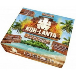 Jeux de société - Escape Box : Koh Lanta