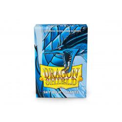 Protège-cartes Dragon Shield - 60 Japanese Sleeves Matte Sky Blue - Searinn