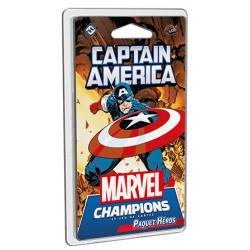 Jeux de société - Marvel Champions : Le Jeu De Cartes - Captain America