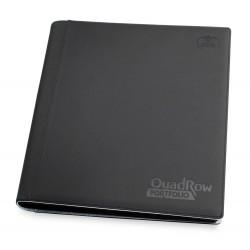 Ultimate Guard 12-Pocket QuadRow Portfolio XenoSkin noir