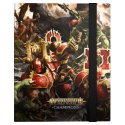 Portfolio - Ultimate Guard Flexxfolio Warhammer Age of Sigmar : Champions - Chaos vs. Destruction