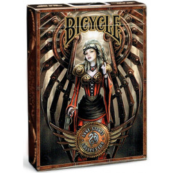 Bicycle - 54 cartes Anne Stokes Steampunk