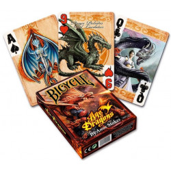 Bicycle - 54 cartes Anne Stokes Age of Dragons