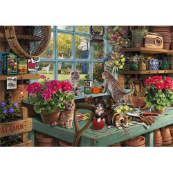Micro Puzzle - Grandpa's Potting Shed Jigsa