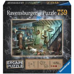 Jeux de société - Escape Puzzle : La Cave de la Terreur
