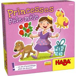 Jeux de société super mini - Princesses Pêle-mêle
