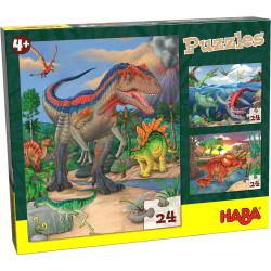 Puzzles : Dinosaures
