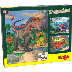 Puzzles : Dinosaures