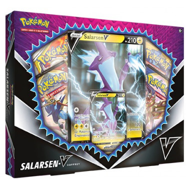 Coffret Pokémon Français Salarsen-V