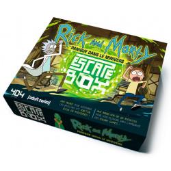 Jeux de société - Escape Box : Rick & Morty