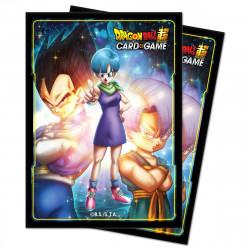 Protège-cartes illustré Ultra Pro Dragon Ball Super - Bulma,Vegeta and Trunks