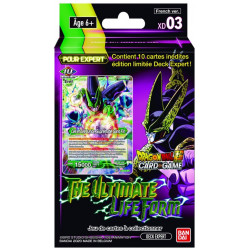 Starter Dragon Ball Card Game Expert Deck XD03 - The Ultimate Life Form