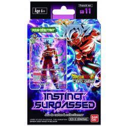 Précommande Starter Deck de démarrage Dragon Ball Card Game SD11 - Instinct Surpassed
