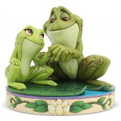 Figurine Disney Tradition Tiana et Naveen en grenouilles
