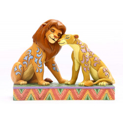 Figurine Disney Tradition Simba et Nala Tendresse