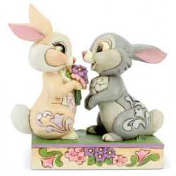 Figurine Disney Tradition Panpan et Miss Bunny - Thumper and Blossom