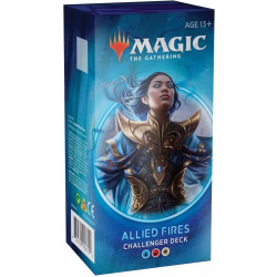 Challenger Deck Magic The Gathering 2020 : Allied Fires