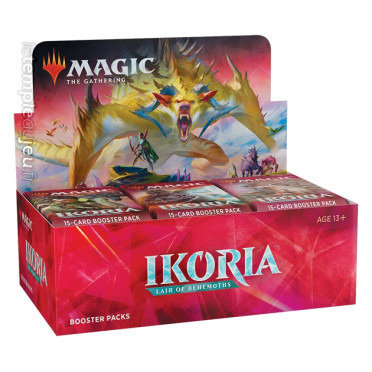 Booster Magic Ikoria Lair of Behemoths boite complète