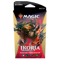 Magic Thème booster Ikoria Lair of Behemoths - Monster