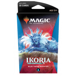 Magic Thème booster Ikoria Lair of Behemoths - Bleu