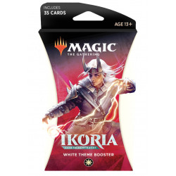 Magic Thème booster Ikoria Lair of Behemoths - Blanc