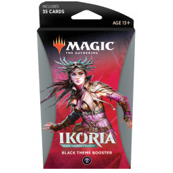 Magic Thème booster Ikoria Lair of Behemoths - Noir