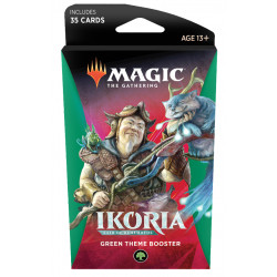 Magic Thème booster Ikoria Lair of Behemoths - Vert
