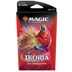 Magic Thème booster Ikoria Lair of Behemoths - Rouge