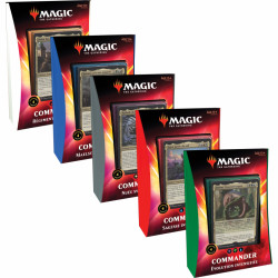 Précommande Magic Deck Commander 2020 Ikoria La Terre de Béhémoths lot de 5 Decks