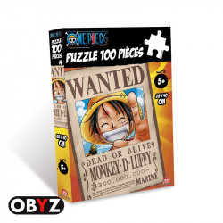 Puzzle : One Piece - Wanted Luffy