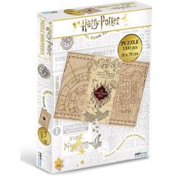 Puzzle : Harry Potter - Carte du Maraudeur