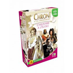 Jeux de société - Chroni le jeu chronologique : L'Histoire à l'École