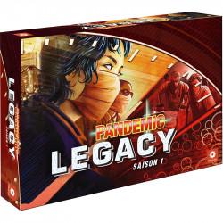 Jeux de société - Pandemic Legacy - Saison 1 : Boite Rouge