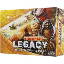 Jeux de société - Pandemic Legacy - Saison 2 : Boite Jaune