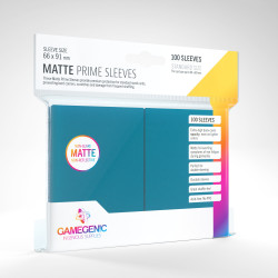 Protège-cartes Gamegenic Standard Matte - Bleu
