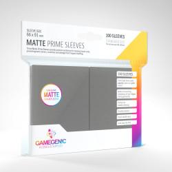 Protège-cartes Gamegenic Standard Matte - Gris Foncé