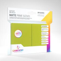 Protège-cartes Gamegenic Standard Matte - Vert Lime