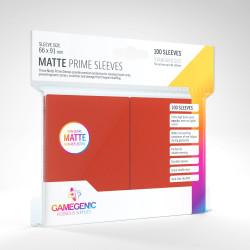 Protège-cartes Gamegenic Standard Matte - Rouge