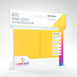 Protège-cartes Gamegenic Standard - Jaune