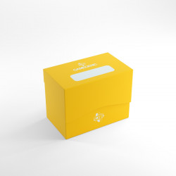 Gamegenic Deck Box Boite de rangement Side Holder 80+ Standard - Jaune
