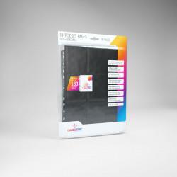 Feuilles classeur Gamegenic Sideloading 18-Pocket Pages par lot de 10