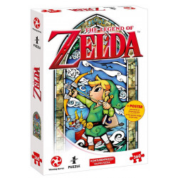 Puzzle Nintendo : The Legend of Zelda - Hero's Bow - 360 Pièces
