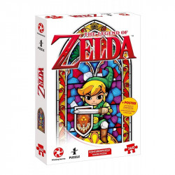 Puzzle Nintendo : The Legend of Zelda - The Hero of Hyrule - 360 Pièces