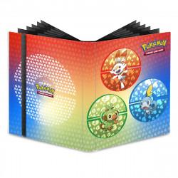 Portfolio A4 Pokemon 9 Cases Sword and Shield Galar Starters