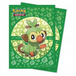 Protège-cartes illustré Ultra Pro standard Pokémon Sword and Shield Galar Starters Grookey
