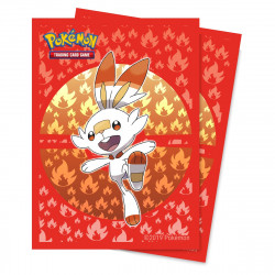 Protège-cartes illustré Ultra Pro standard Pokémon Sword and Shield Galar Starters Scorbunny